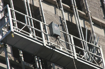 a ce aprovou a plataforma suspendida zlp500 da corda de fio da série do zlp, zlp630, zlp800, zlp1000