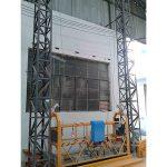 A corda de alumínio posta 10m suspendeu a fase monofásica 2 * 2.2kw da plataforma zlp1000