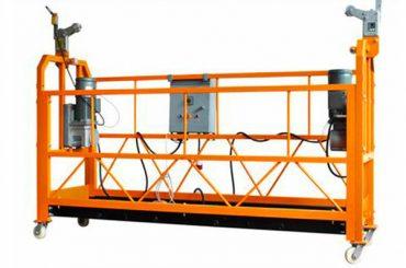 zlp1000 temporariamente instalado berço da plataforma suspensa para a construção de decoração