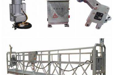 plataforma de trabalho suspensa durável, plataforma em forma de l para pintar tectos altos