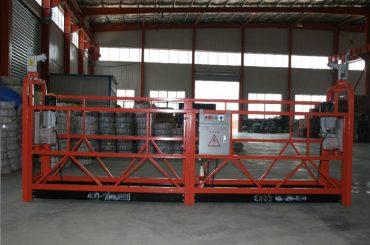 zlp1000 8 - 10 m / min segura plataforma woking suspensa para construção e manutenção de edifícios