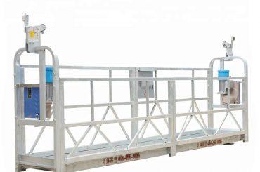 Liga de alumínio suspendida 800kg dos sistemas do andaime de 10m com altura de levantamento 300 m
