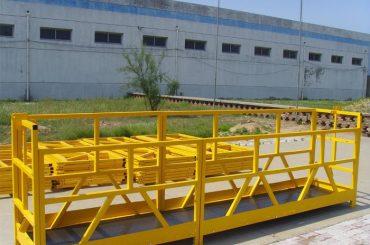 plataforma alta 300m 2.5m * 3 1.8kw 800kg da limpeza de janela da construção da elevação do zlp 800