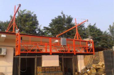 plataforma de suspensão de corda