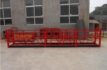 plataformas de trabalho suspendidas fortes do prédio alto zlp500 2m * 2 1.5kw 6.3kn