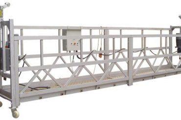 Equipamento de acesso suspenso elétrico de 630 kg zlp630 com talha ltd6.3