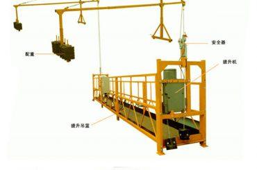 grua elétrica da boa qualidade da venda da fábrica para a plataforma suspendida do fabricante direto