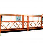 2.5mx 3 seções 1000kg suspenderam a velocidade de levantamento 8-10 m / min da plataforma de acesso