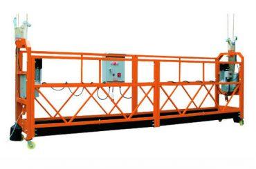 Velocidade de levantamento suspendida 1000-10 da plataforma de acesso das seções de 2.5M x 3 1000m / min