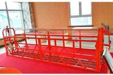 Manutenção suspendida aço da construção das plataformas 7.5m 1.8kw 800kg do acesso