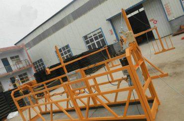 Plataforma de funcionamento suspendida de aço segura da pintura ZLP630 para a construção civil (2)