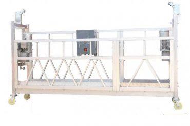 Fase monofásica da plataforma zlp800 da limpeza de janela da eficiência elevada 380v / 220v / 415v