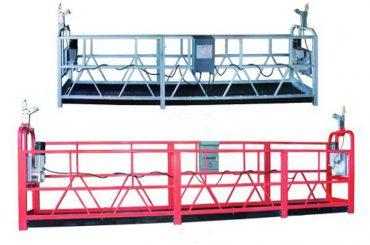 andaime da fase do balanço do trabalho aéreo da plataforma do zlp 630 corda suspendida com o pulverizador plástico pintado