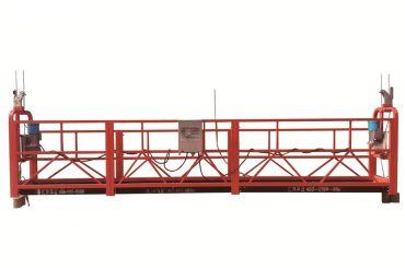 aço / plataforma suspendida provisória galvanizada quente, berço da manutenção zlp500