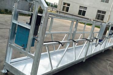 limpeza de janelas zlp630 corda suspensa plataforma gôndola berço com talha ltd6.3