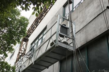 zlp1000 2.5m * 3 2.2kw 8kn suspendido berços de acesso com sistema de controle elétrico