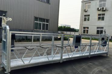 corda ajustável da liga de alumínio suspendeu o zlp 800 da plataforma para recondicionar / pintura