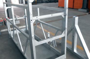 plataforma de instalação de elevadores de plataforma de corda de segurança elevada zlp630 zlp800 zlp1000