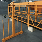 plataforma suspendida da corda de fio da fase monofásica 800 quilogramas 1,8 quilowatts, velocidade de levantamento 8 -10 m / min