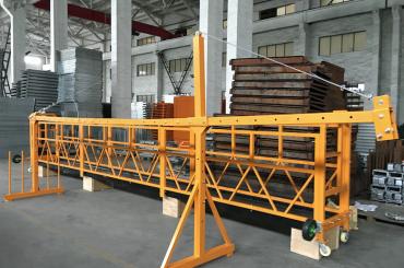 zlp 500 lp 630 temporariamente suspenso plataforma de cabo de aço para a construção