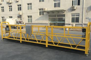 poderosa plataforma de gôndola suspensa de corda de 6 metros com projeção de feixe