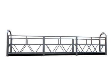 2 x 1.8 kw suspenso andaime monofásico berço de plataforma suspensa zlp800