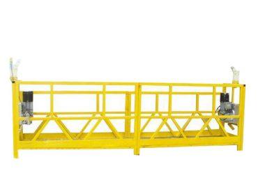 berço suspendido aço / alumínio da plataforma, 630kg suspendeu o equipamento do acesso