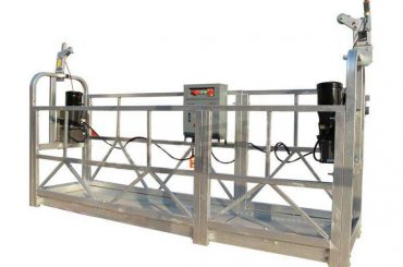 liga de alumínio suspendeu a plataforma de funcionamento / gôndola / zlp 630 do andaime