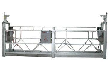 plataforma de trabalho suspendida galvanizada quente zlp630 para a construção civil da elevação alta