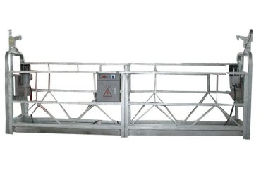 A corda de segurança móvel suspendeu a plataforma zlp500 com capacidade avaliado 500kg