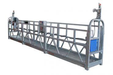 plataforma suspendida da gôndola elétrica da gôndola da corda de fio da grua a plataforma suspendida